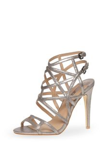 Cage Strappy High Sandals