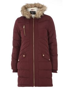Panelled Padded Jacket