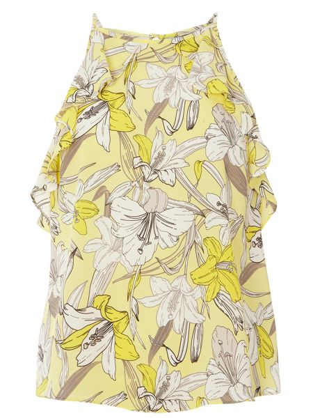 Dorothy Perkins Floral Ruffle Camisole Top