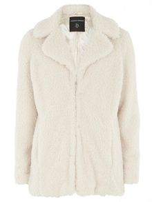 Dorothy Perkins Teddy Faux  Fur Coat