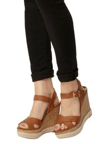 Cork Espadrille Wedges