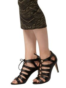 Lace Up High Sandals