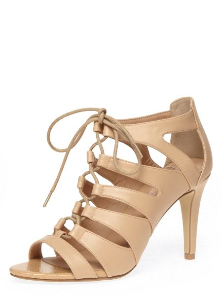 Dorothy Perkins Snake Print Lace Up Sandals