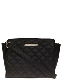 Quilted Wing Crossbody Bag