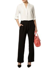 High Waisted Wide Leg Palazzo Trouser