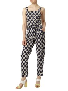Dorothy Perkins Petite Daisy Printed Jumpsuit