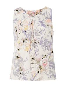 Billie and Blossom Floral Shell Top
