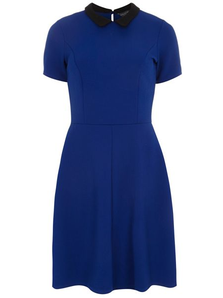 Dorothy Perkins Collar Fit and Flare Dress