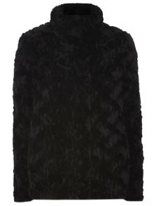 Tall Faux Fur Coat