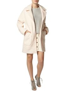 Wool Ovoid Coat