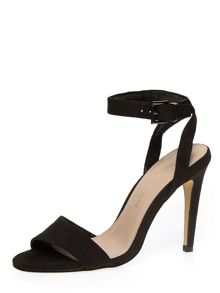 Asymmetric High Heel Sandals