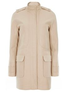 Dorothy Perkins Funnel Coat