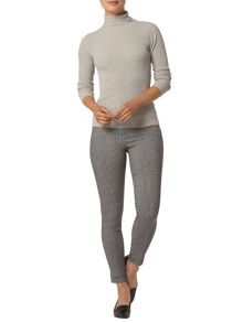 Gingham Stretch Trousers
