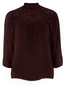 Lace Victoriana Top