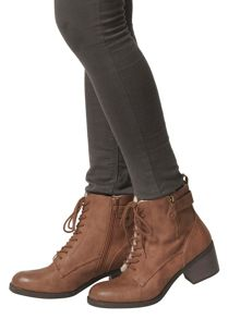 Dorothy Perkins Lace Up Knee High Boots
