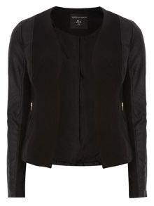 Dorothy Perkins Edge To Edge Waterfall Jacket