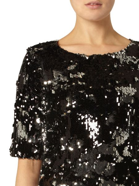 Dorothy Perkins Sparkle Sequin Shell Top