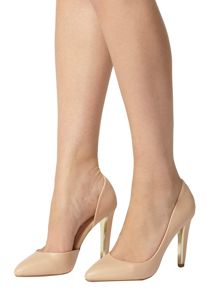 High Pointed Court Shoes