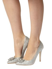 Fliss Embellished Point Court Shoes