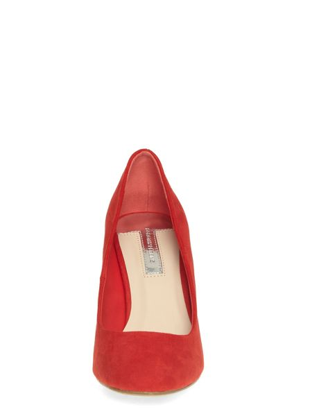 Dorothy Perkins Almond Toe Mid Court Shoes