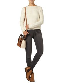 Dorothy Perkins Charcoal `Bailey` Ultra Stretch Jeans