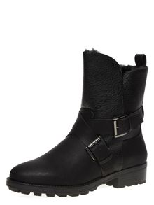 Dorothy Perkins Faux Fur Lined Ankle Boots