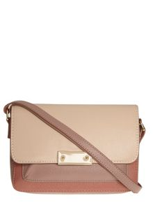 Colour Block Mix Crossbody Bag