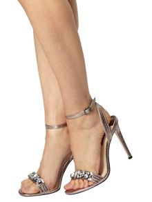Star Bling Strappy Sandals