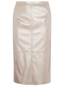 Dorothy Perkins Luxe PU Shimmer Skirt