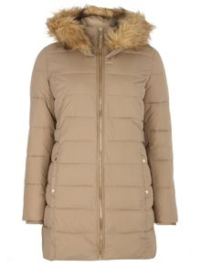 Luxe Faux Fur Padded Jacket