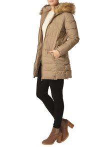 Dorothy Perkins Luxe Faux Fur Padded Jacket