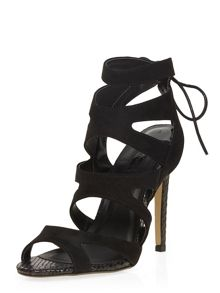 Caged High Heel Sandals