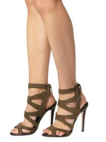 Dorothy Perkins Caged High Heel Sandals