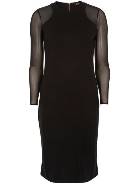 Dorothy Perkins Mesh Sleeveless Bodycon Dress