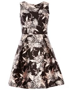 Dorothy Perkins Oriental Print Prom Dress