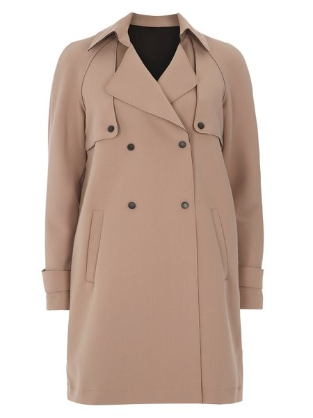 Dorothy Perkins Bonded Trench Coat