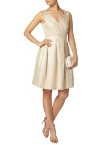Dorothy Perkins Luxe Shimmer Pleat Dress