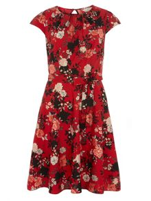 Billie and Blossom Woven Dress