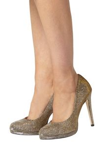 Felicity` Platform Court Shoes
