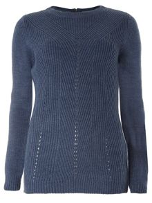 Dorothy Perkins Zip Back Jumper