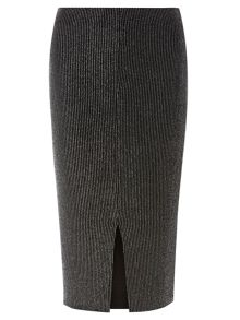 Dorothy Perkins Vertical Rib Tube Skirt