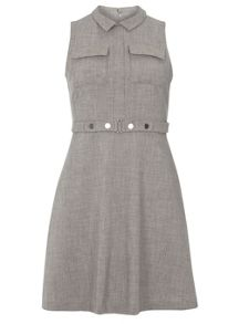 Dorothy Perkins Cross Hatch Skater Dress