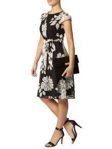 Billie Petites: Floral Pleat Dress