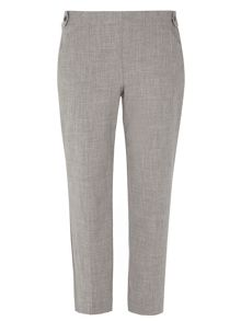 Dorothy Perkins Crosshatch Straight Leg Trousers