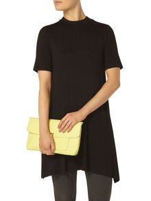 Pocket Front Clutch Bag
