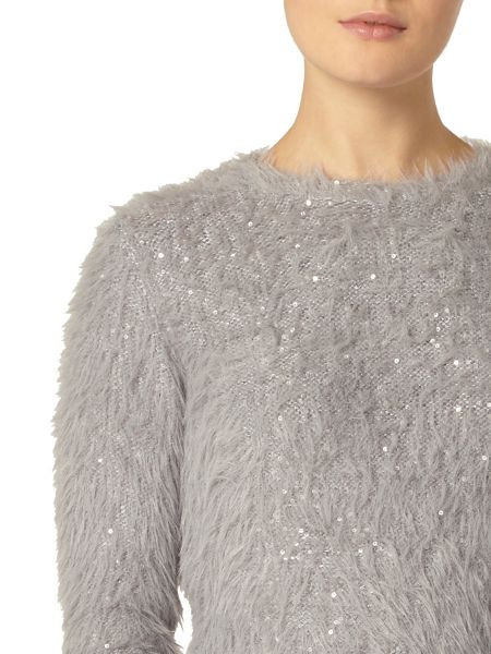 Dorothy Perkins Feather Sequin Jumper
