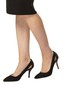 Dorothy Perkins Dally Cut Out Court Shoes