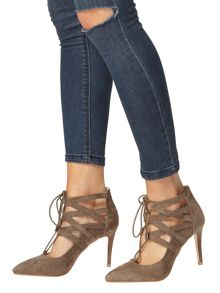 Ghillie Lace Up Court Shoes