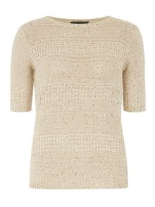 Dorothy Perkins Sequin T-Shirt