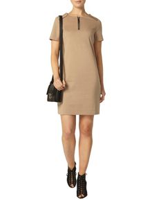 Dorothy Perkins Zip Front Detail Shift Dress